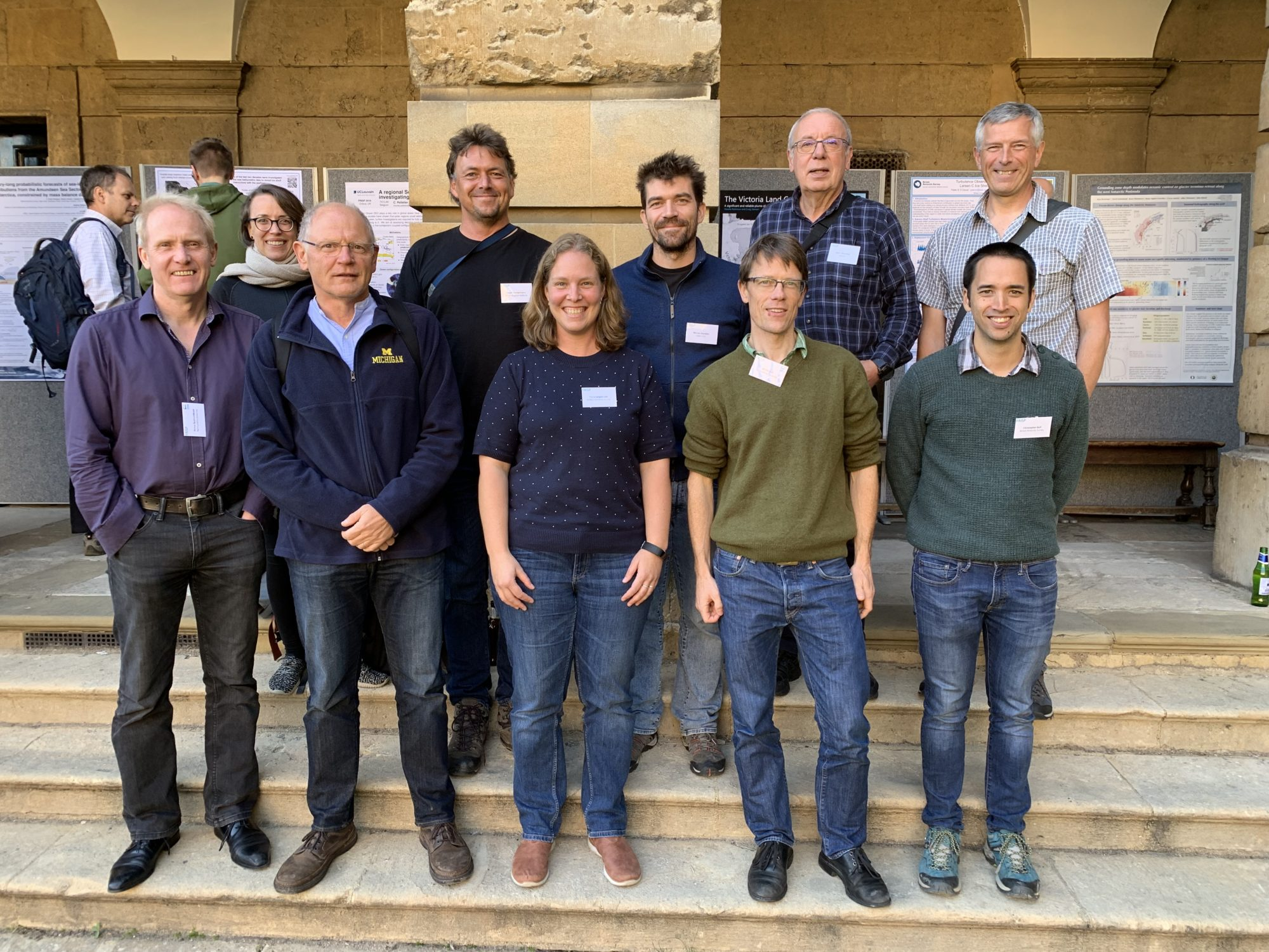 TiPACCs members at FRISP 2019