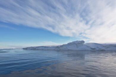 Ronne Ice Shelf in Antarctica